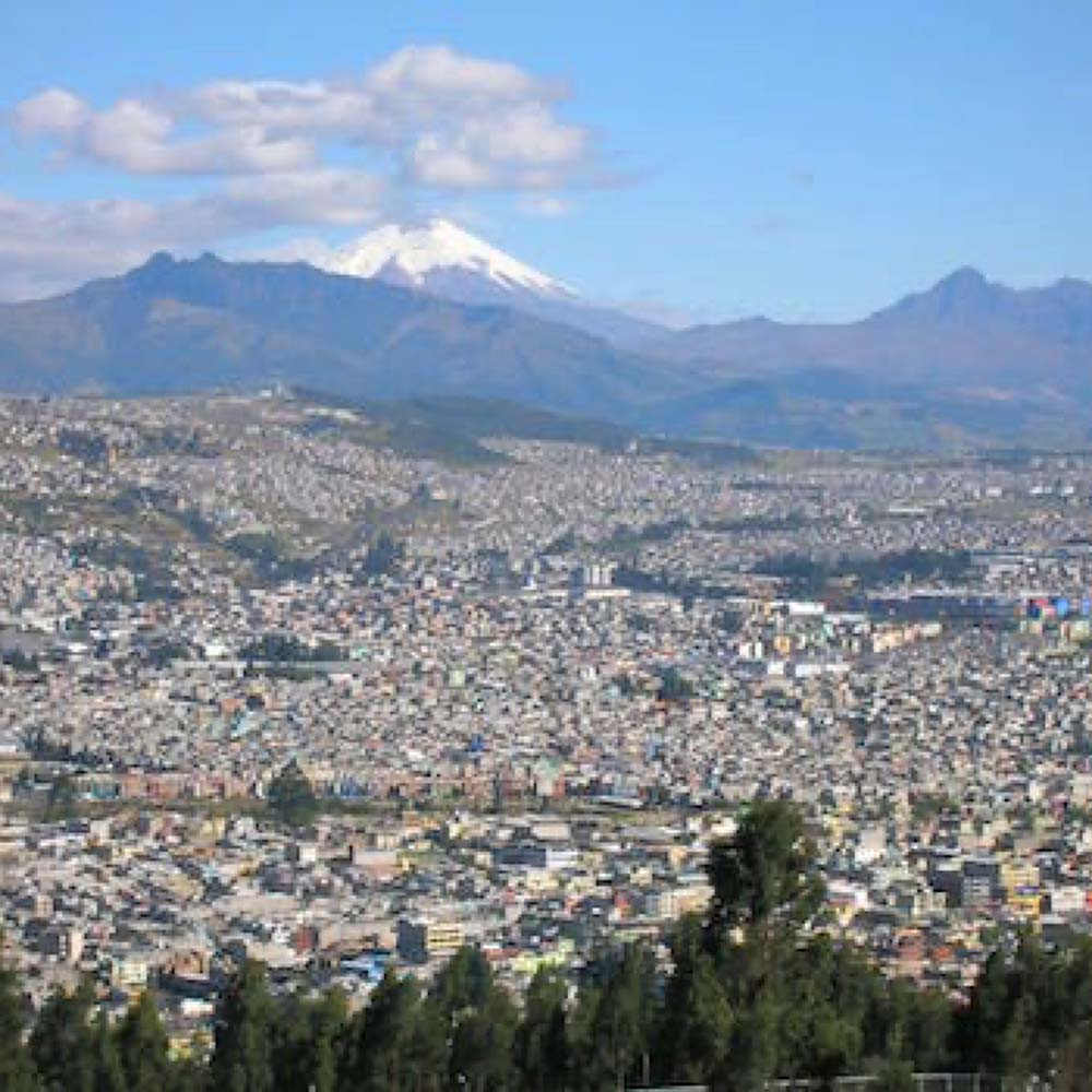 Mountains in Quito