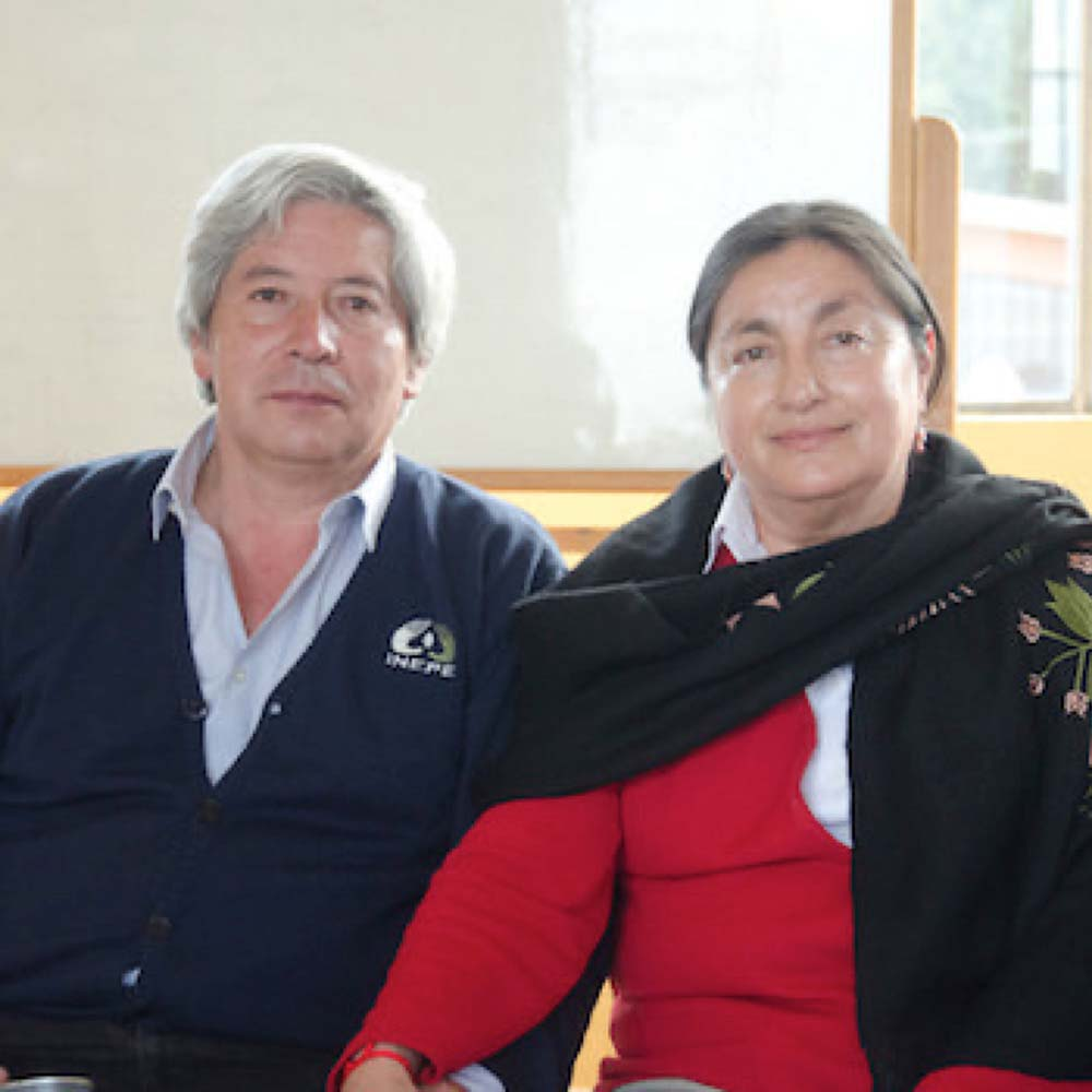 Two people from INEPE
